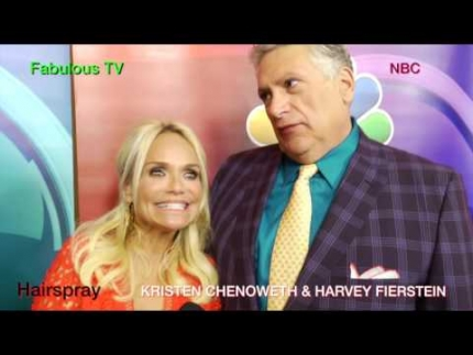 'Hairspray' stars 'KRISTEN CHENOWETH' & 'HARVEY FIERSTEIN' on Fabulous TV