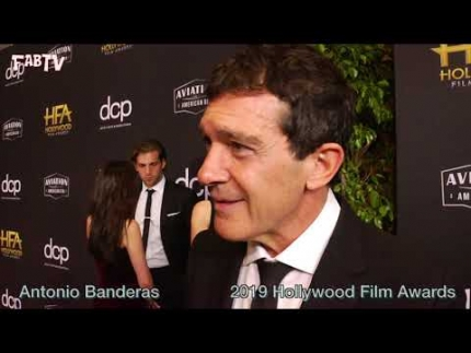 "The 23rd annual Hollywood Film Awards with ""Antonio Banderas"""