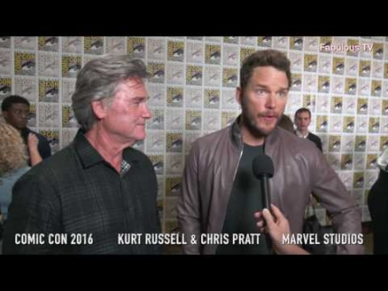 Comic Con 2016  Kurt Russell & Chris Pratt  Marvel Studios' on Fabulous TV