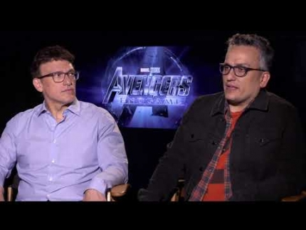 Directors of Avengers Endgame:  Joe Russo & Anthony Russo