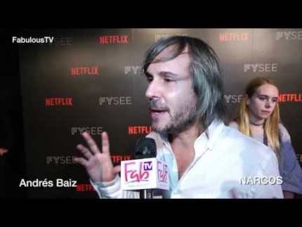 Director Andrés Baiz at 'FYSEE Netflix' talks 'NARCOS' on FabulousTV