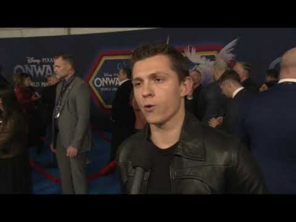 """ONWARD"" world premiere with Tom Holland"