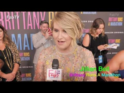 "Jillian Bell arrives at ""Brittany Runs a Marathon"""