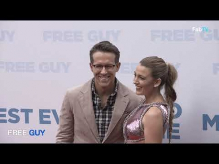 Blake Lively & Ryan Reynolds arrive at the 'FREE GUY' world premiere in New York!