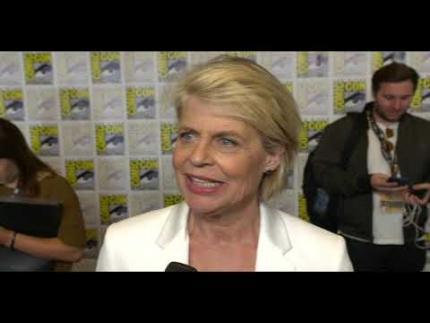 """Terminator: Dark Fate   """"Linda Hamilton"""" at Comic Con"""