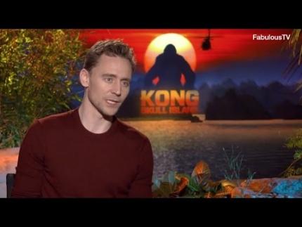Tom Hiddleston talks about KONG: 'Skull Island' on FabulousTV