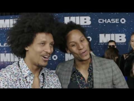 "Larry & Laurent Bourgeois - ""Les Twins"" Men In Black MIB International Premiere"