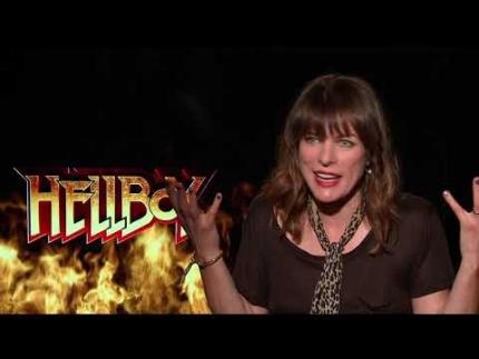 """Hellboy""  Milla Jovovich"