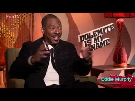 "Exclusive! Eddie Murphy reveals ""Dolemite"""