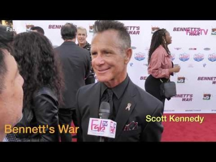 "Scott Kennedy at ""Bennett's War""  premiere in Los Angeles"