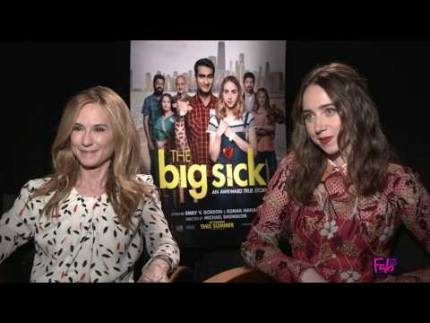 'The Big Sick' Holly Hunter & Zoe Kazan loves working with Judd...