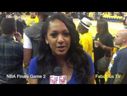 Golden State Warriors locker-room run by at NBA Finals Game 2 on...