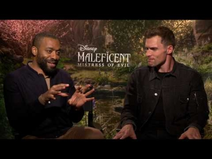 "Maleficent: Mistress of Evil with ""Chiwetel Ejiofor & Ed..."
