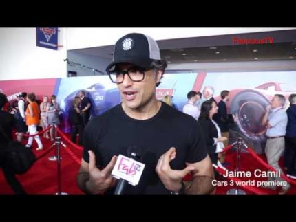 Jaime Camil at 'CARS 3' premiere on FabulousTV