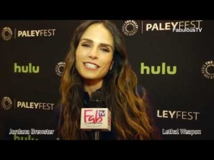 Jordana Brewster on 'LETHAL WEAPON' the TV series premiere on FabulousTV