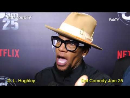 D. L.  Hughley at \'Def Jam Comedy Jam 25\' on FabulousTV