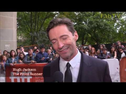 """The Front Runner"" premiere with Hugh Jackson"