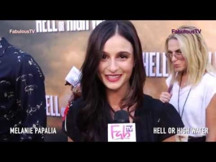 Melanie Papalia at 'Hell or High Water' premiere  on Fabulous TV