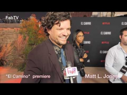 "Matt L. Jones  ""El CAMINO""  premiere & red carpet"