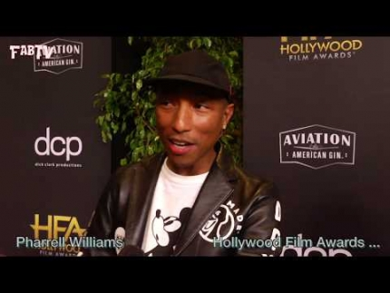 "'Pharrell Williams' arrives at the 23 Annual ""Hollywood Film Awards"""
