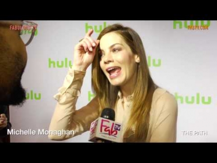 Michelle Monaghan talks about Hulu's 'THE PATH' on FabulousTV