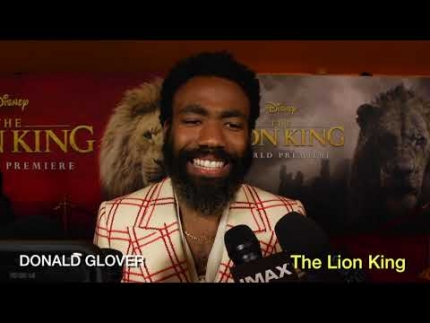 "'Donald Glover' arrives at ""The Lion King"" premiere in..."
