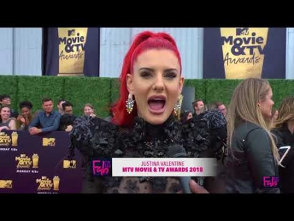Justina Valentine MTV Movie & TV Awards 2018