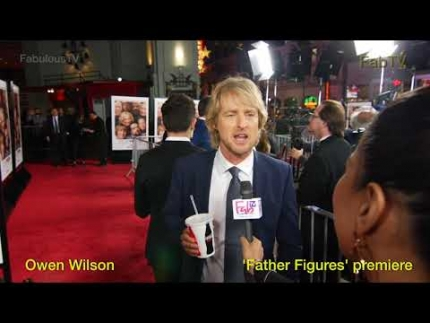 Owen Wilson at 'Father Figures' premiere on FabTV