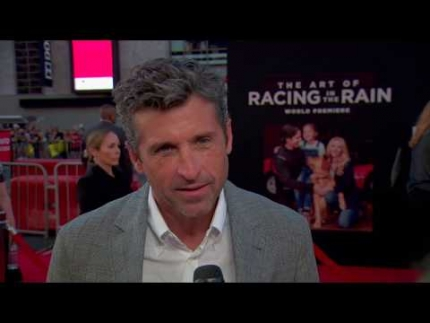 The Art of Racing In The Rain with Patrick Dempsey
