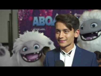 "Tenzing Norgay Trainor  at the""Abominable"" premiere"
