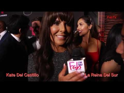 "Kate del Castillo ""La Reina Del Sur"" season 2 premiere"