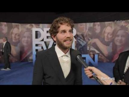 """Ben Platt details """"Dear Evan Hansen"""" at the premiere"""