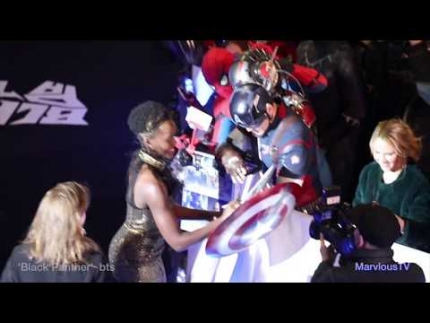 Seoul Korea 'Black Panther' premiere with conference