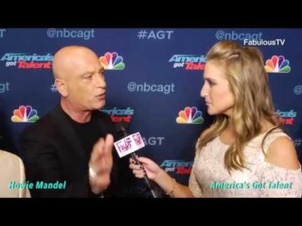 Howie Mandel talks about 'America\'s Got Talent' finalist tonight on...