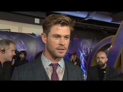CHRIS HEMSWORTH at the Avengers: Endgame UK premiere