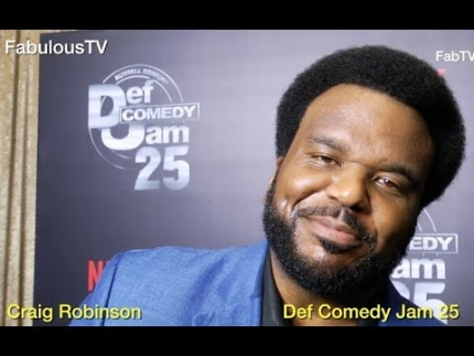 Craig Robinson at 'Def Comedy Jam 25' on FabulousTV