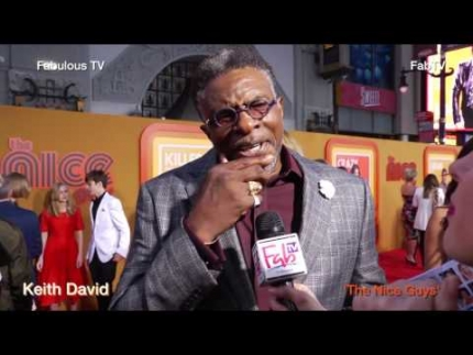Keith David at 'THE NICE GUYS' premiere in Hollywood on   Fabulous TV