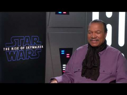 "Billy Dee Williams ""Lando Calrissian"" Star Wars: The Rise of Skywalker"