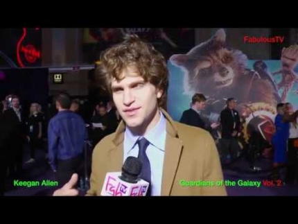 Keegan Allen at 'Guardians of the Galaxy' Vol. 2 premiere