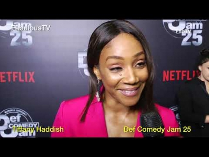 Tiffany Haddish at 'Def Comedy Jam 25' on FabulousTV