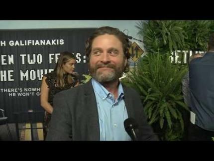 "Premiere of ""Between Two Ferns"" Movie Zach Galifianakis"