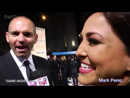 "Screenwriter Mark Perez at the ""GAME NIGHT""  premiere in Hollywood"