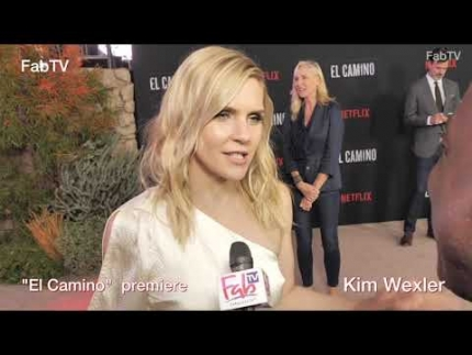 "Kim Wexler looks amazing at the ""EL CAMINO""  premiere & red carpet"