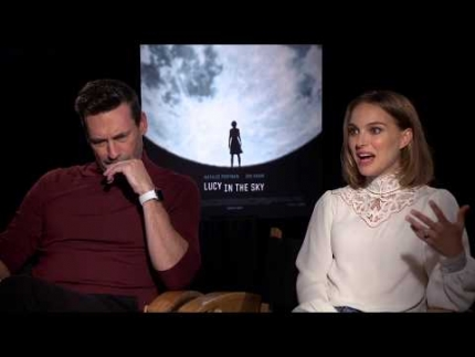 "JON HAMM AND NATALIE PORTMAN ""Lucy in the Sky"""