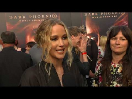 "Jennifer Lawrence at the ""DARK PHOENIX""  WORLD PREMIERE"