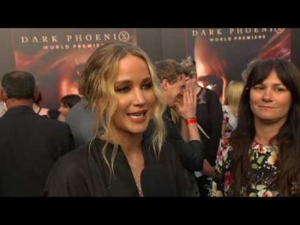 "Jennifer Lawrence at the ""DARK PHOENIX""  WORLD PREMIERE"
