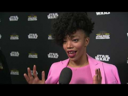 STAR WARS CELEBRATION CHICAGO 2019 Naomi Ackie