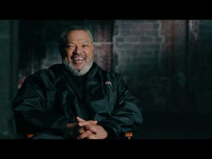 "Laurence Fishburne   ""Bowery King"" on ""John Wick 3"""