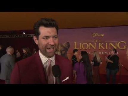 World Premiere THE LION KING with BILLY EICHNER