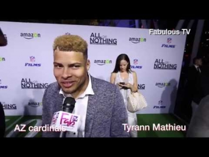 Arizona Cardinal Tyrann Mathieu talks about AZ doc on Fabulous TV